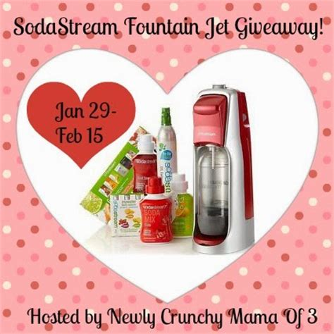 Sodastream Giveaway - sodastream fountain jet giveaway my dairyfree glutenfree life