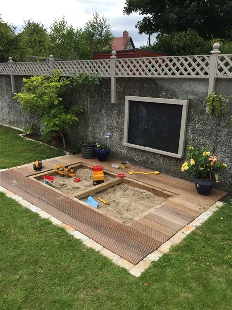 build a sandpit in your backyard the 25 best sandpit ideas on pinterest sandbox kids