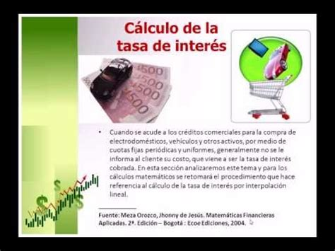 Tasa De Inter S Aplicable Al C Lculo De Los Intereses | video tutorial 03 c 225 lculo de la tasa de inter 233 s