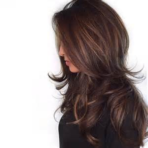 highlights for black hair and layered for 50 25 best ideas about brunette hair colors on pinterest brunette hair chocolate brunette hair