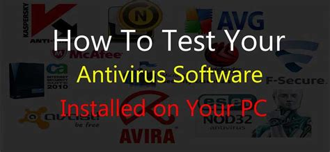 test antivirus how to test antivirus software broexperts tech guides