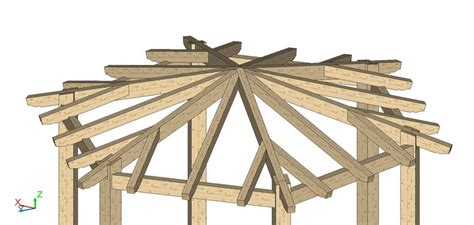gazebo esagonale in legno gazebo esagonale arianna urbano