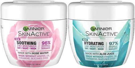Garnier Active Moisturizer garnier skin skinactive soothing 3 in 1 moisturizer