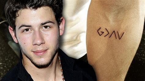 joe jonas tattoo nick jonas gets new meaningful