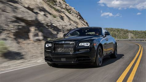Rolls Royce Wraith Black Badge (2016) review by CAR Magazine