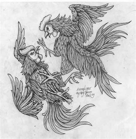 fighting rooster tattoo designs best 25 rooster ideas on chicken