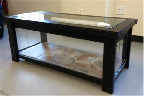 coffee table reptile terrarium reptile coffee table complete critter
