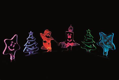 diy led plexiglass christmas decorations pic version