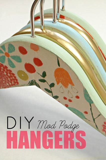 diy mod podge gifts diy mod podge hangers teaching me how shower gifts and decoupage
