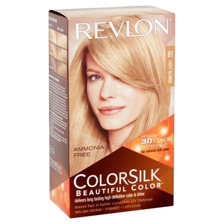 revlon hair dye colors revlon 174 colorsilk beautiful color permanent liquid hair