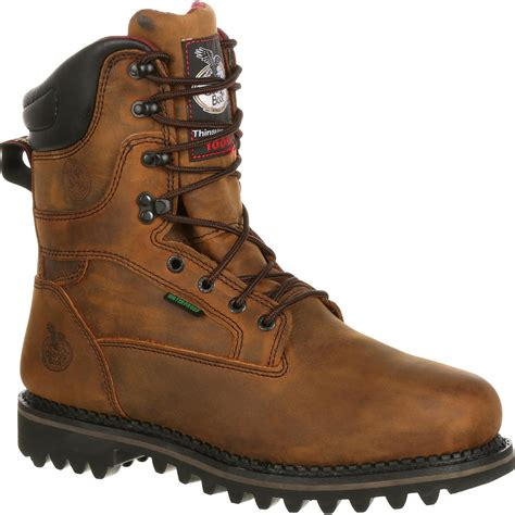 insulated work boots for s insulated steel toe work boots g8362