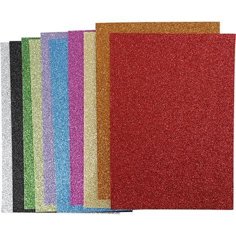 Karton Beermat 1 5 Mm A4 21x30 mosgummi a4 21x30 cm tykkelse 2 mm farver glitter