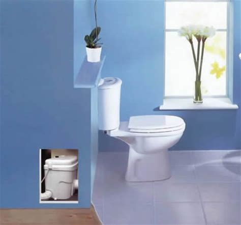 up flush toilets no need to up the concrete in the