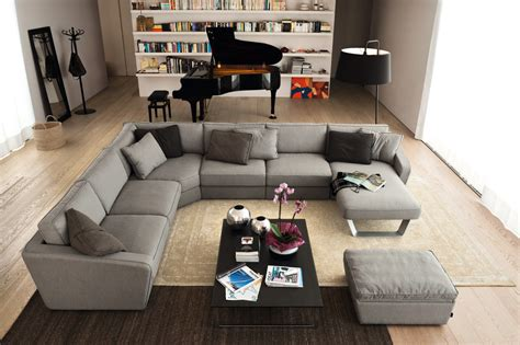 modern leather sectional living room modern with endless