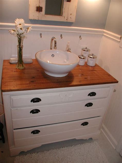 old dresser as bathroom vanity 166 best images about old dresser turns into bathroom