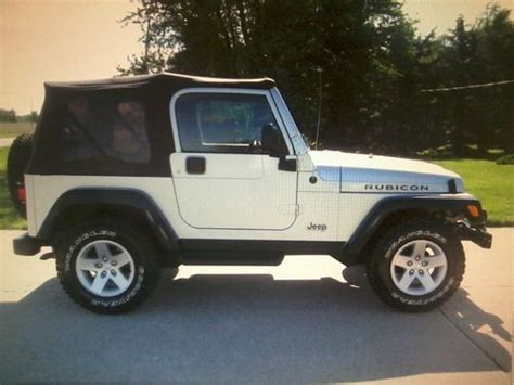 2004 Jeep Wrangler Soft Top Purchase Used 2004 Jeep Wrangler Rubicon 4x4 4 0l 5