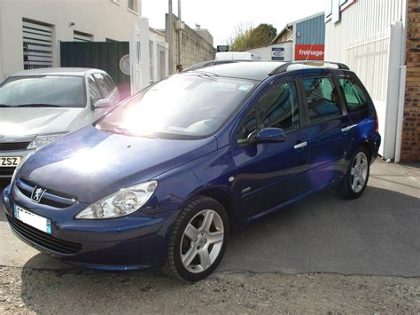 car make peugeot peugeot 307 sw 04 2004 blue lieu