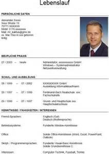 Lebenslauf Vorlage Mit Bild Lebenslauf F 252 R Informatikkaufmann Mit Berufserfahrung Bewerbungsforum