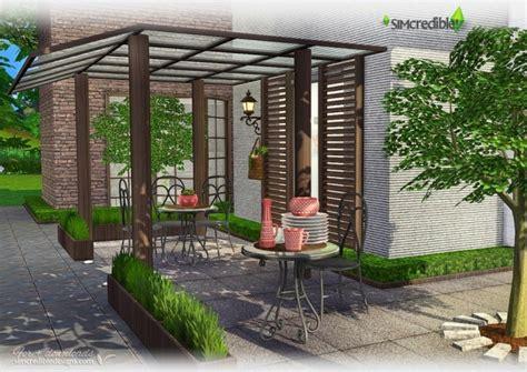 life simple patio  simcredible designs  sims