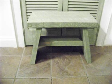 20 inch high bench bench step stool 15 inches high 20 inches wide and 11
