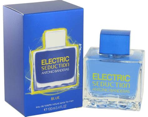 Parfum Antonio Banderas Blue electric blue cologne for by antonio banderas