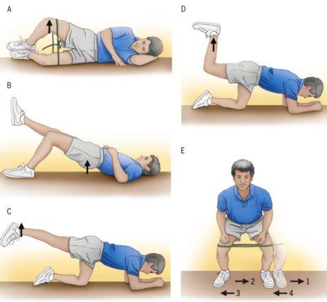fisioterapia senza test quali esercizi scegliere per i glutei minimizzando l
