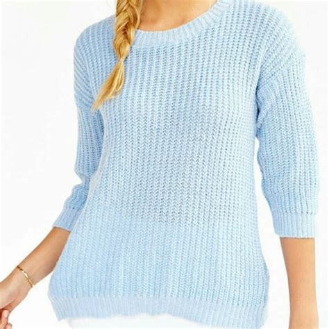 light blue sweater 89 outfitters sweaters outfitters