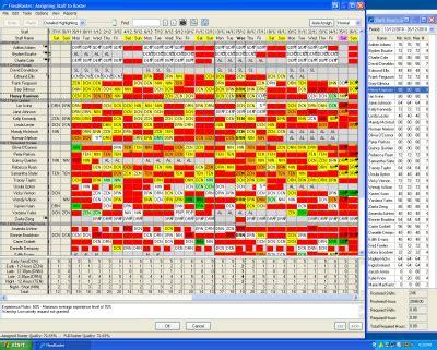 flexiroster screenshots gt gt 15 great nursing roster