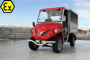Electric Vehicles For Industry Atex Electric Vehicles