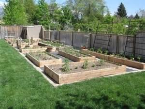 Garden Layouts Ideas Garden Boxes Cottage Exterior