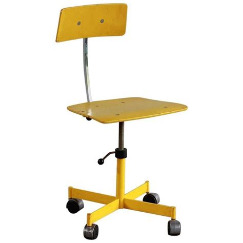 Yellow Kevi Style Desk Chair For Sale At 1stdibs Yellow Desk Chair
