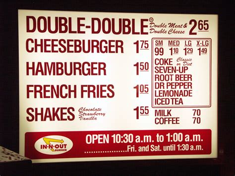 price of how much does a 100x100 in n out cheeseburger cost