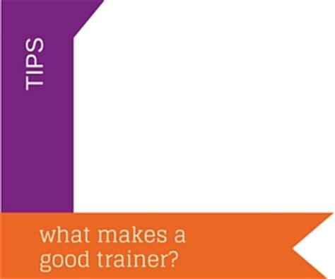 what makes a good home what makes a good trainer