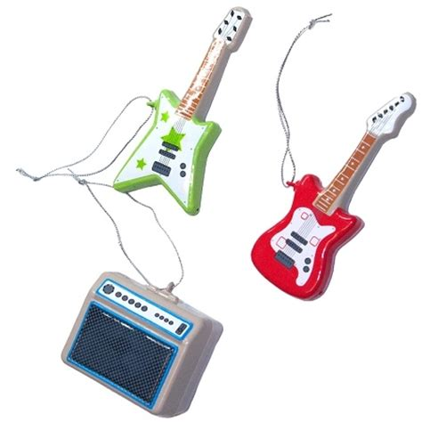 guitar jam christmas tree ornaments