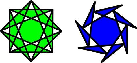 figuras geometricas la estrella dibujos con poligonos imagui