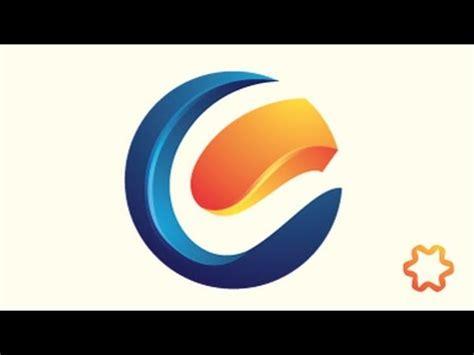 logo tutorial for beginners simple 3d letter logo design tutorial for beginners