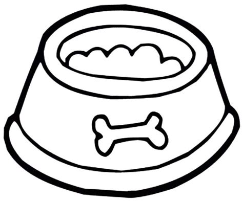 coloring pages for dog bones dog bowl coloring page coloring page dog bone