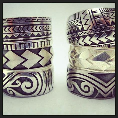 tribal spear tattoo silver pacifica collection using spear designs
