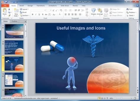 free ophthalmology cataract surgery medical powerpoint template