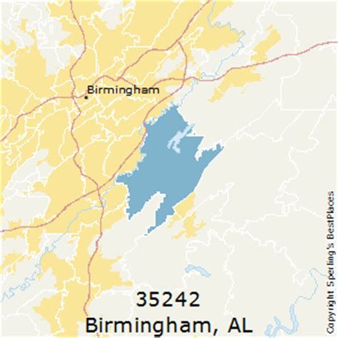 Section Alabama Zip Code by Best Places To Live In Birmingham Zip 35242 Alabama
