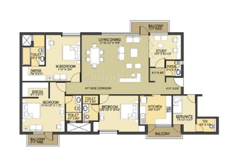pioneer park gurgaon floor plan pioneer park in sector 61 gurgaon rs 90 lac onwards