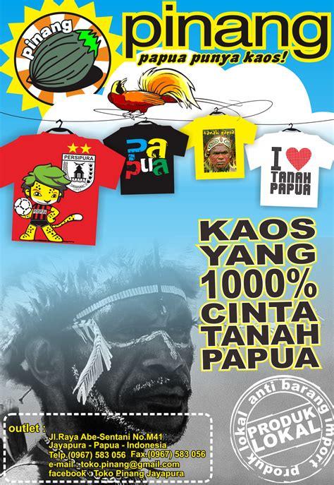 Kaos Baju Papua toko pinang jual kaos papua