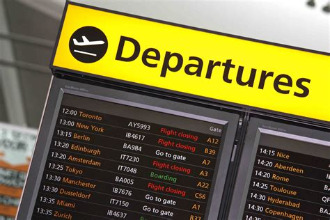 uk airport arrivals and departures information websites image gallery heathrow airport departures