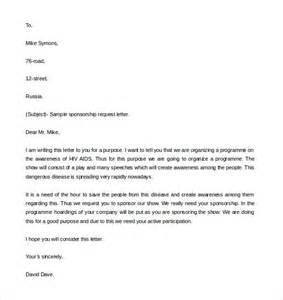 Letter Asking For Charity Sponsorship letter sponsorship model sponsorship letter template letter asking for