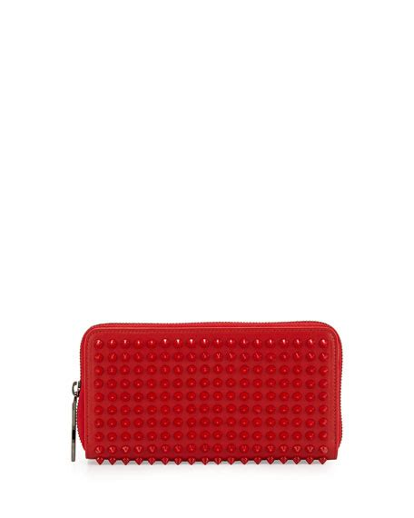 Christian Louboutin Zip Wallet by Christian Louboutin Panettone Spiked Zip Wallet