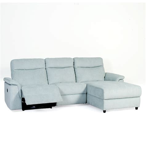 3 seater chaise lounge fifth ave 3 seater chaise lounge featuring powered recliner