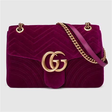 velvet gucci gg bag handbags pinterest gucci
