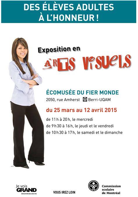 Calendrier Scolaire Csdm Adultes Adultes En Formation De La Csdm Exposition 2015