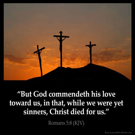images of jesus love for us romans 5 8 inspirational image