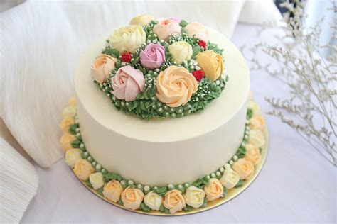 singapore florist flower gifts shop cake shop singapore floral series customised cakes baker s brew studio